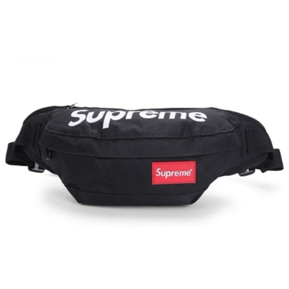 73bee060ac9d HypeBeast Fanny Pack Black Waist Bag SUPreme NWT